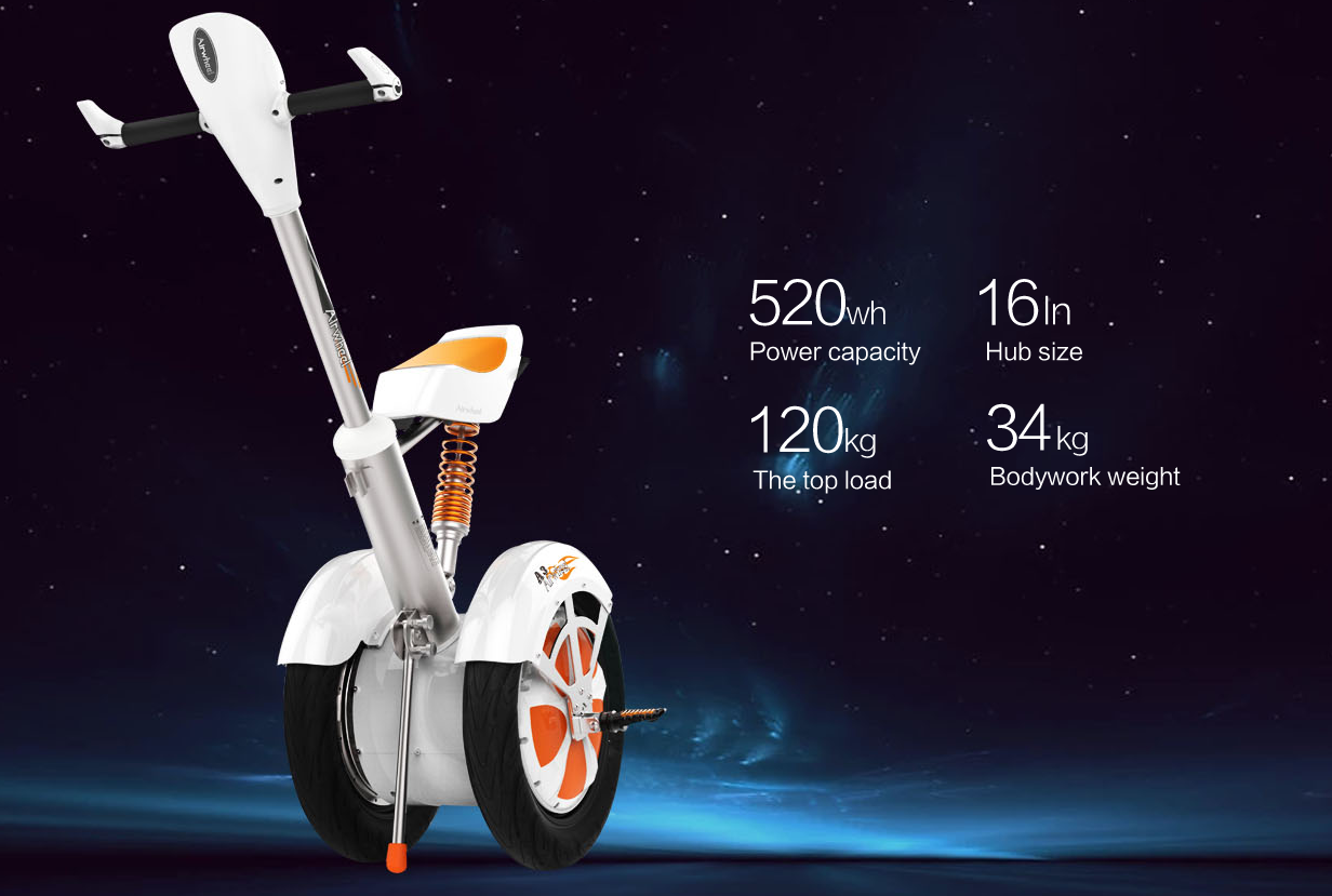 A3 2 wheel electric scooter