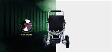 Airwheel H3S lightweight folding wheelchair