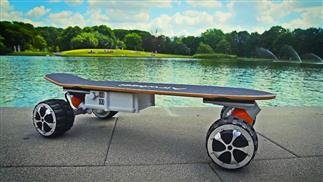 Airwheel M3 M3 smart electric skateboard.
